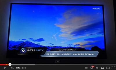 Philips UHDTV Ambilight Video
