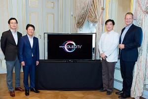 Samsung KE555S9C: Premiere des Curved OLED Fernsehers