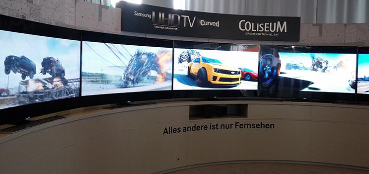 Samsung UHD Kolosseum