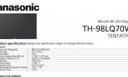 Panasonic UHD-Monitore mit 84 und 98 Zoll zum Neuwagen-Preis