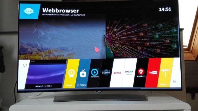 WebOS Webbrowser