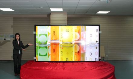 CSOT präsentiert 110 Zoll Ultra HD TV auf der SID Display Week