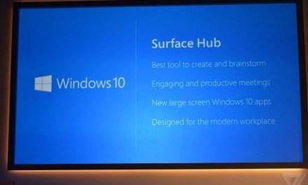 Surface Hub: 4K-Konferenzsystem mit Windows 10