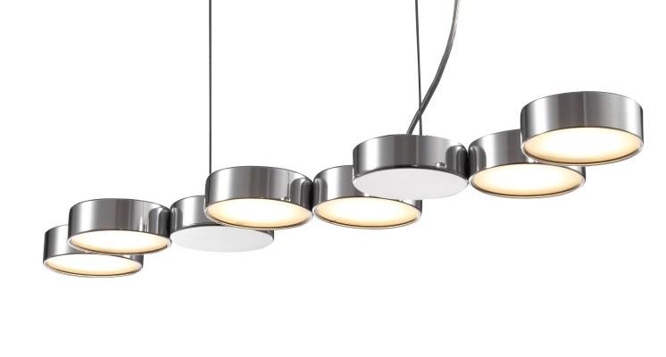 LPL195 24 watt led modern pendant light