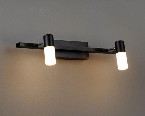 LWA193 black led mirror light mirror lamp