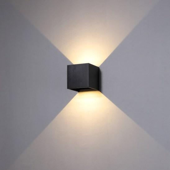 LWA288-BK outdoor wall light