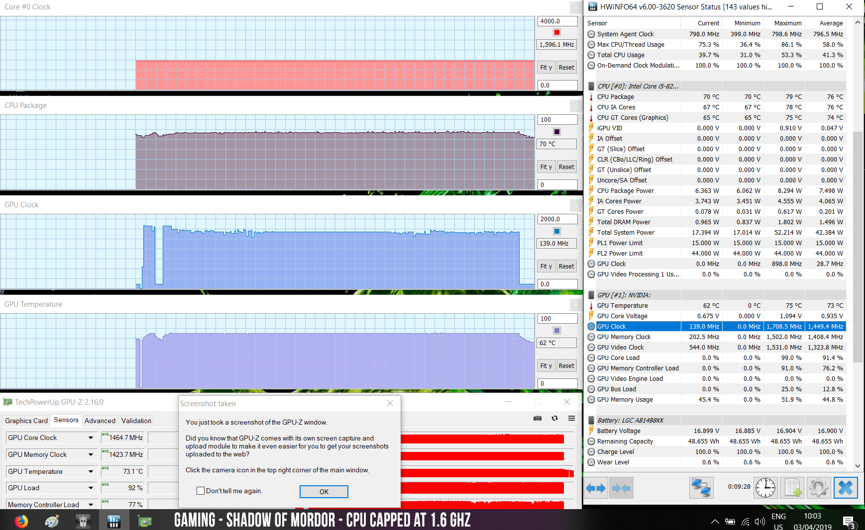 Nvidia GeForce MX250 (10DE 1D13) initial benchmarks vs GeForce MX150