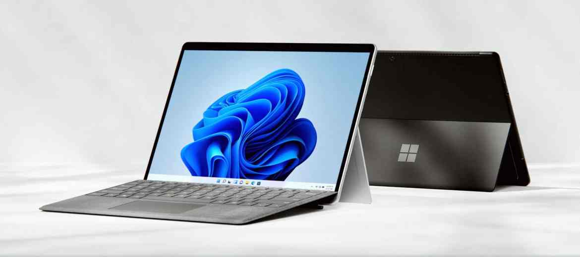 The updated Microsoft 13-inch Surface Pro 8