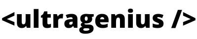 Ultragenius Logo - Hire Remote Developers