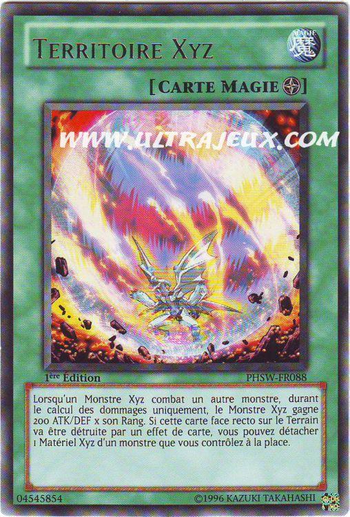 UltraJeux Territoire Xyz PHSW FR088 Carte Yu Gi Oh