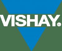 Vishay White Logo