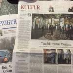Volkszeitung articolo evento multimediale Lipsia