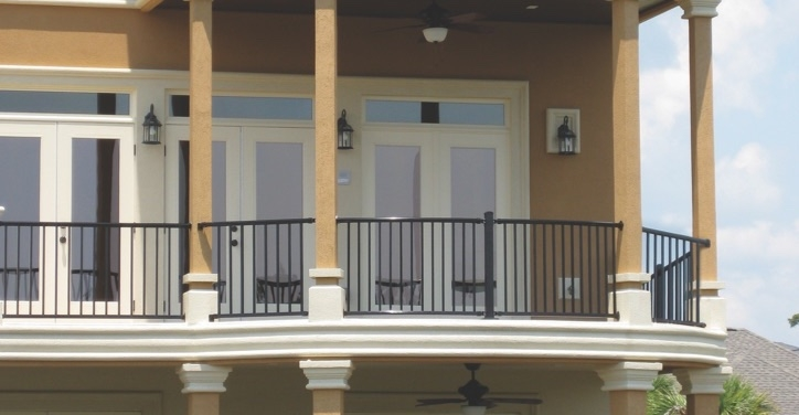 Residential Commercial Aluminum Railing Ultra Aluminum   Commercial Handrails And Railings   Metal   Wood   Guardrail   Pipe Railing   Stainless Steel Railing