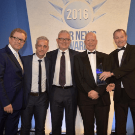 Ultra Refrigeration wins 'Environmental Project of the Year' Award