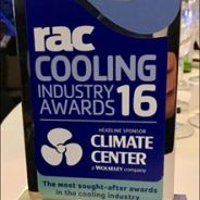 Ultra wins at the RAC Cooling Industry Awards 2016