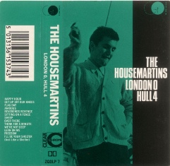 THE HOUSEMARTINS - London 0 Hull 4 (casete)