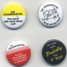 THE HOUSEMARTINS - London 0 Hull 4 (edición especial, chapas)