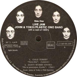102 JOHN LENNON - Sometime In New York City (etiqueta censurada E 1)