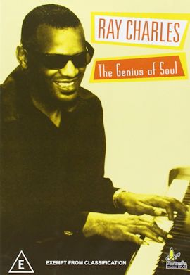 RAY CHARLES, THE GENIUS OF SOUL cartel