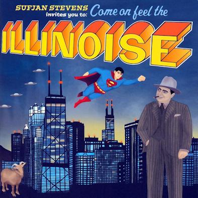 13 Sufjan Stevens - Illinois