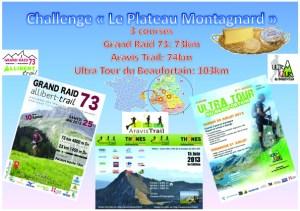 Challenge plateau montagnard 2013