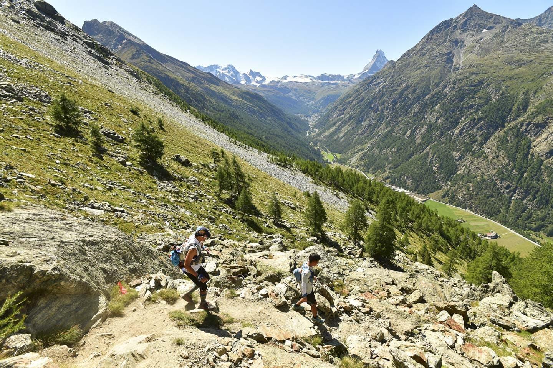 trail running matterhorn