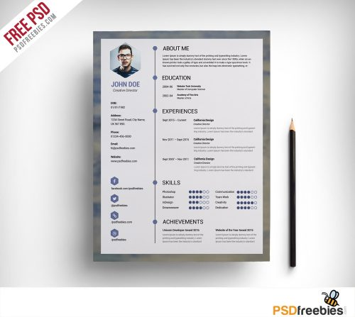 1 free resume template newspaper style how to design your own