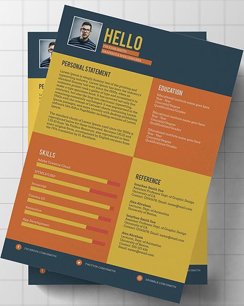 free flat style resume template free flat style resume template free