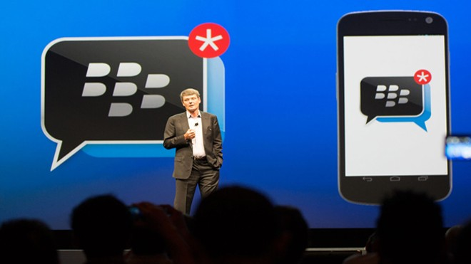 BlackBerry Messenger Downloaded by 20 Million users in First Week