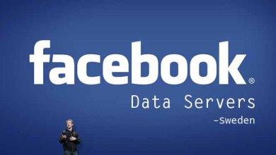 Photo of Facebook Data Server in Sweden