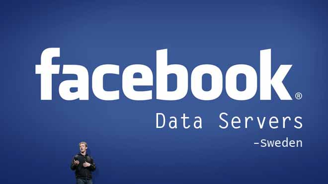 Facebook Data Server in Sweden