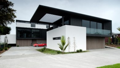 Photo of Stunning Contemporary Home in New Zealand Designed by Marshal