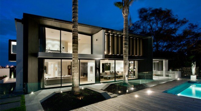 Stunning Contemporary Home in New Zealand Designed by Marshal