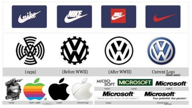 Photo of How Logos of World's Biggest Companies Have Changed Over The Years