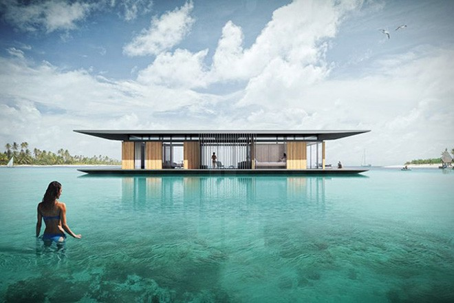 SUSTAINABLE FLOATING HOUSE CONCEPT