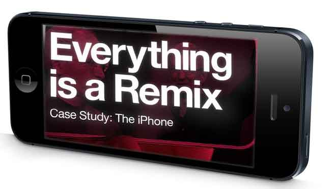 Everything is a Remix Case Study: The iPhone.