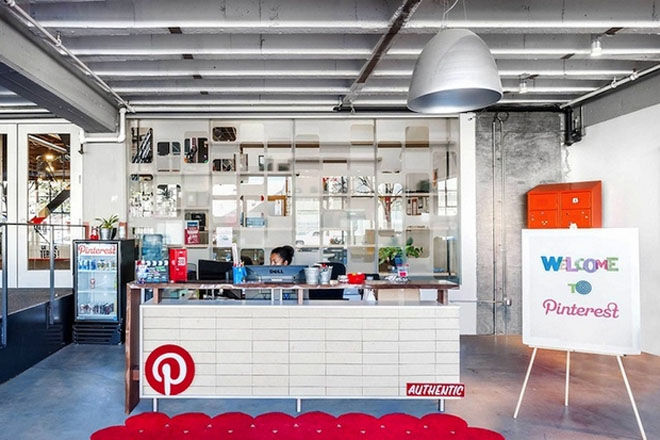 Pinterest's New Headquarters IN SAN FRANCISCO