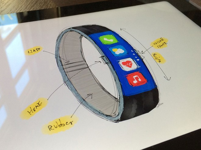iWatch Concept Blends iOS And Nike Fuelband
