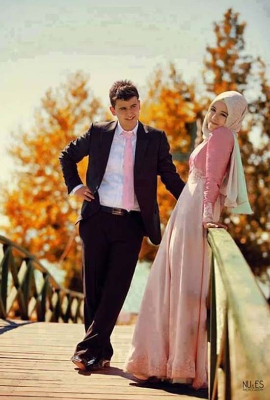 cute muslim couples pictures