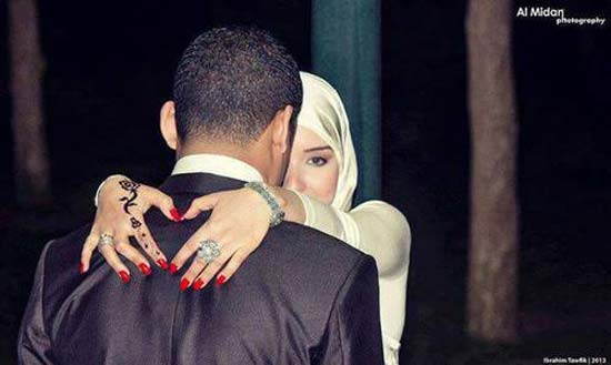 Cute and Romantic Muslim Couples