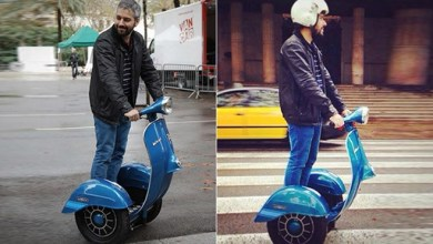 Photo of Vespa Segway – Ride a segway in Style