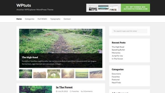 wp tuts wordpress theme free