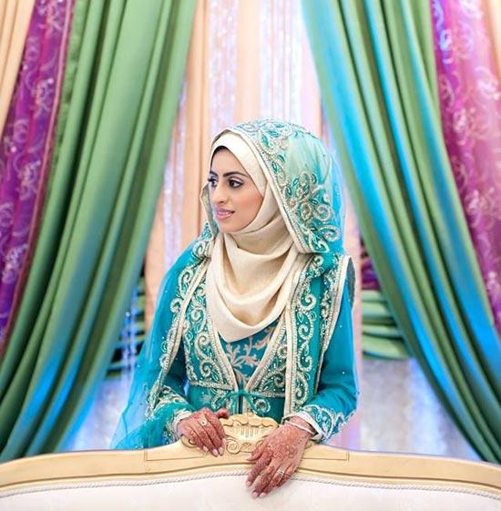 colored wedding dresses