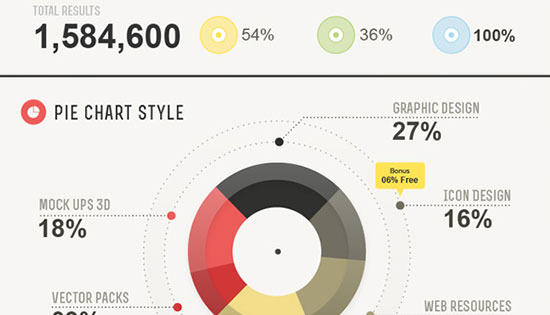 002-Infographic-vector-graph-pie-bar-chart-elements-statistic-vol-2