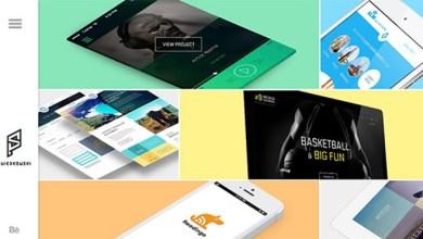 Photo of 12 Modern Flat Portfolio Website Templates Examples