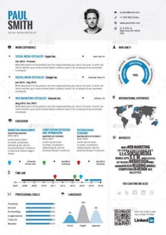 Infographic Resume Vol