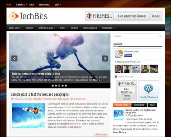 TechBits_Free_WordPress_Theme