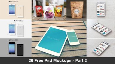 Photo of 215+ Free Psd Mockups For Your Next Project