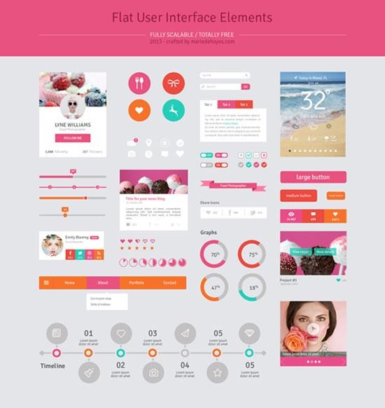 flat-template-design-element25