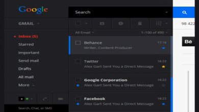 Photo of Beautiful Flat Gmail Redesign Concept